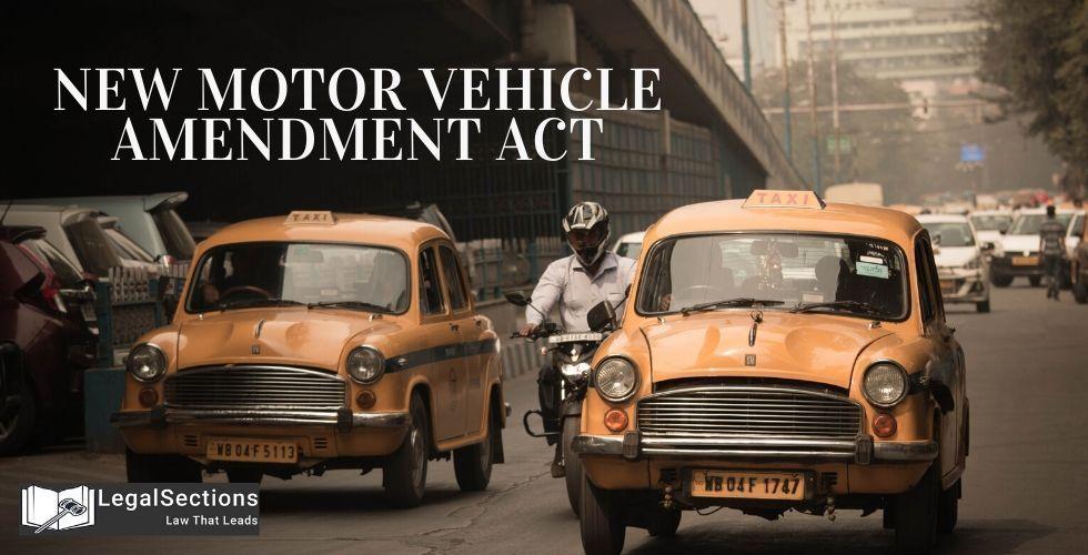 New Motor Vehicle Amendment Act